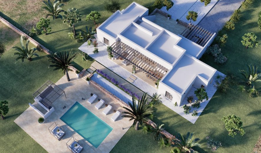 Land and Project for Beautiful Finca