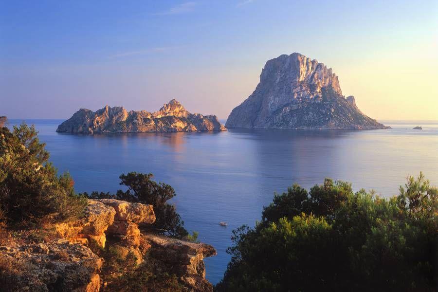 View of Es Vedra Ibiza
